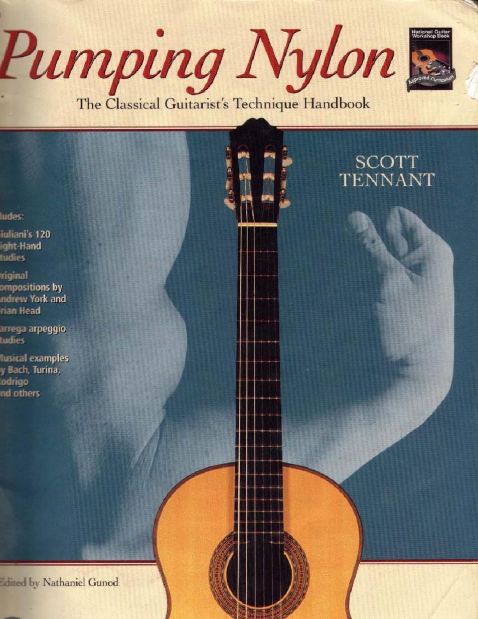 Scott Tennant - Pumping Nylon (Classical Guitarist's Technical Handbook)