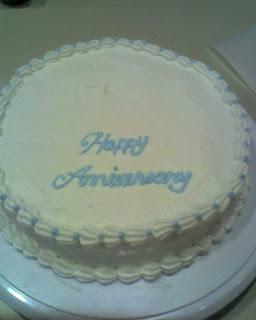 Turntable Birthday Cake