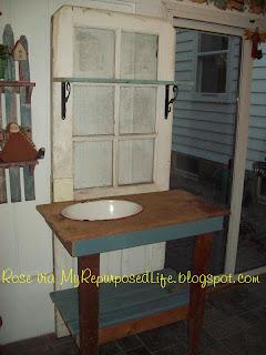 Repurposed Door Into A Potting Bench My Repurposed Life 174