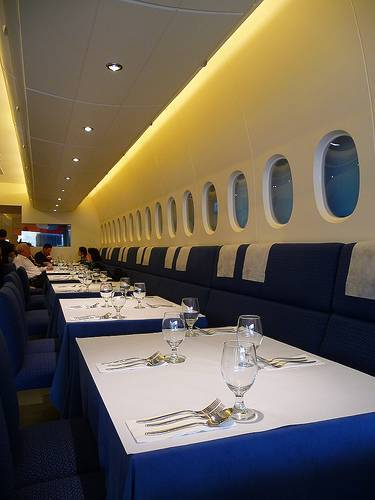 Top Most Weirdest Restaurants In The World A380 In Flight Kitchen