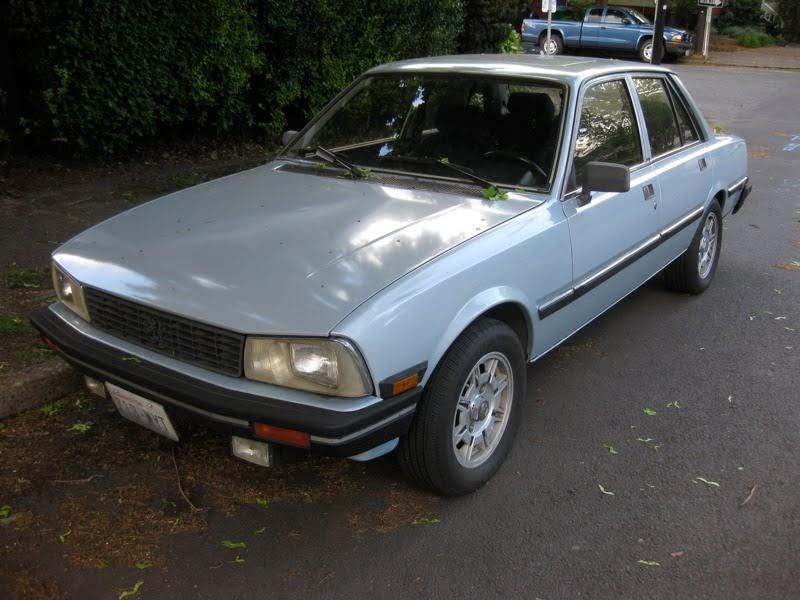old parked cars 1988 peugeot 505 s sedan. Black Bedroom Furniture Sets. Home Design Ideas