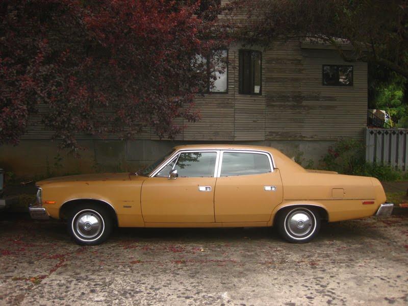 Matador Car: OLD PARKED CARS.: 1974 AMC Matador Sedan