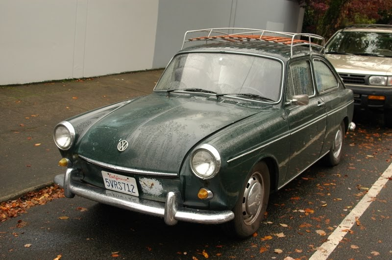 Old Parked Cars 1969 Volkswagen Type 3 Fastback