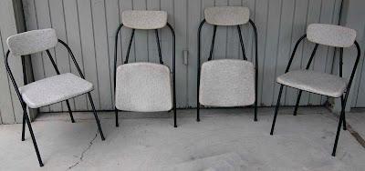 Terrific Modern Revival Vintage Folding Chairs Cosco 50S Era Creativecarmelina Interior Chair Design Creativecarmelinacom