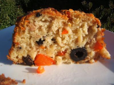 Cake Poivron Olive Et Feta