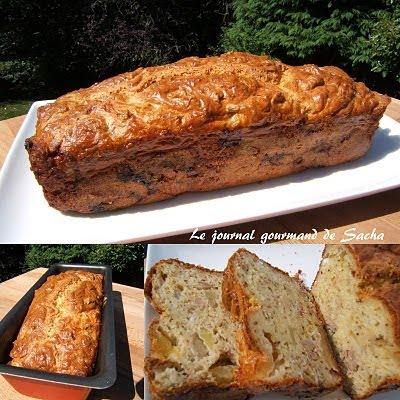 Recette Cake Chevre Noix Lardon