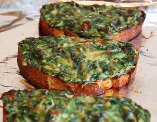 Spinach Tartine