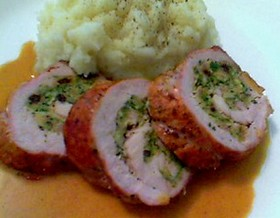 Food wishes video recipes new years eve menu idea stuffed and new years eve menu idea stuffed and rolled pork tenderloin with dijon pan jus forumfinder Choice Image