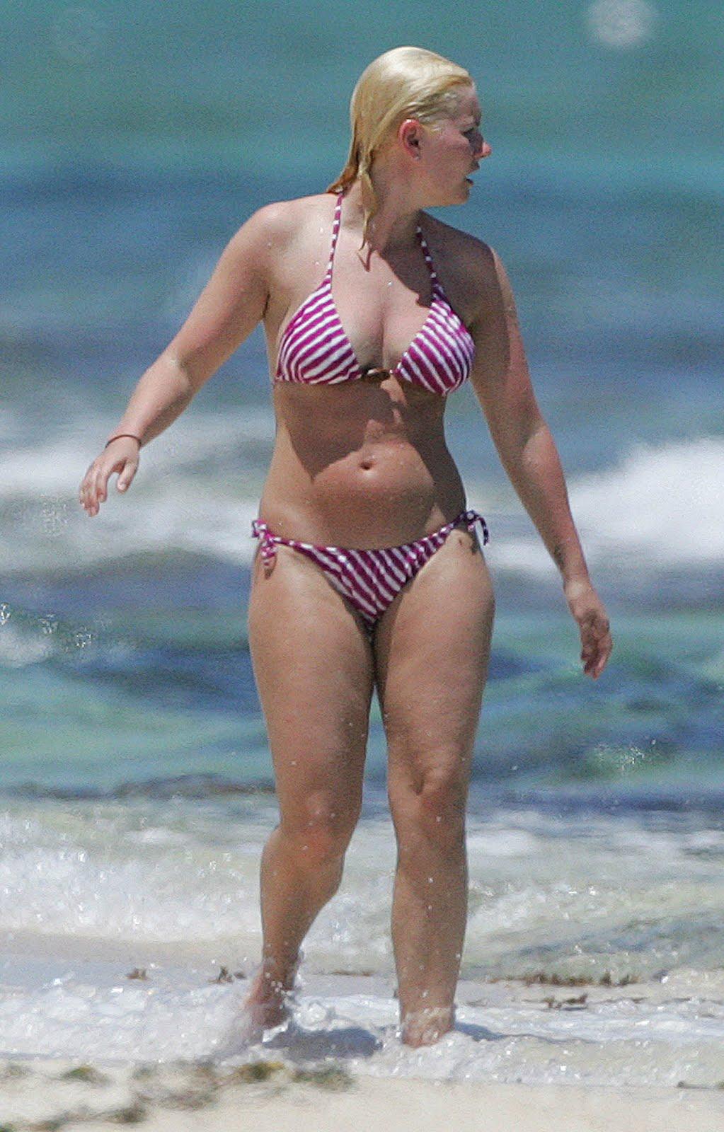 Celebrity fat bikini