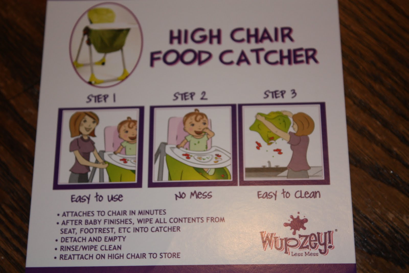 High Chair Food Catcher Reclining Lounge Chairs Momma Drama Wupzey Review And Giveaway