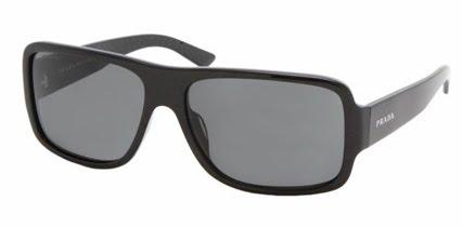 a020f1fa5 Zavalitejšia tvár: hranaté okuliare vyvážia protiklady. Pánske Prada 175 EUR