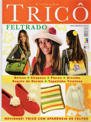 Revista: Coleção Tricô [Portugués]