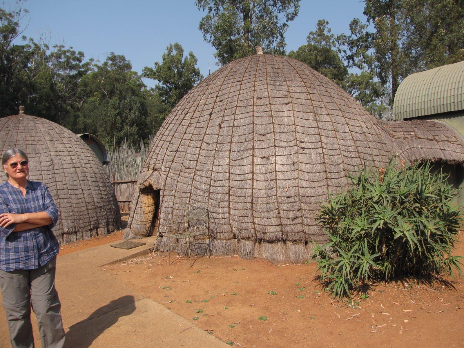 beehive village at mlilwane