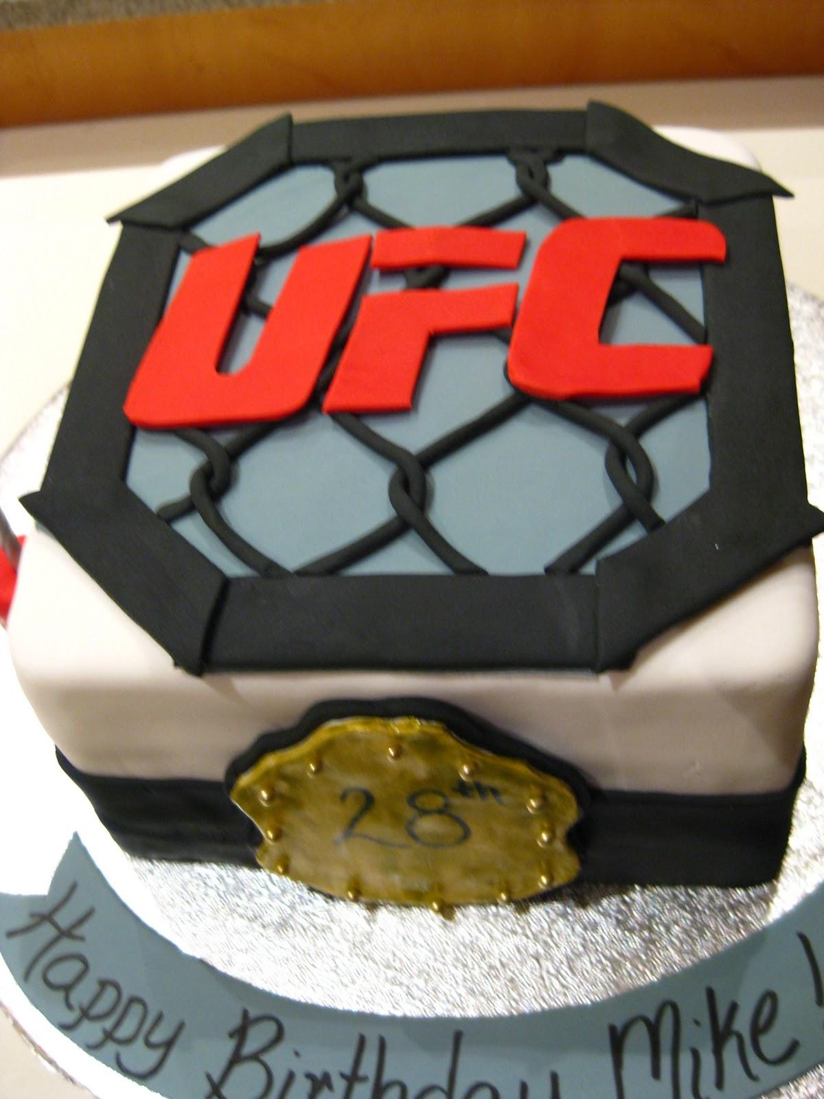 Life S Sweet Ufc Birthday Cake