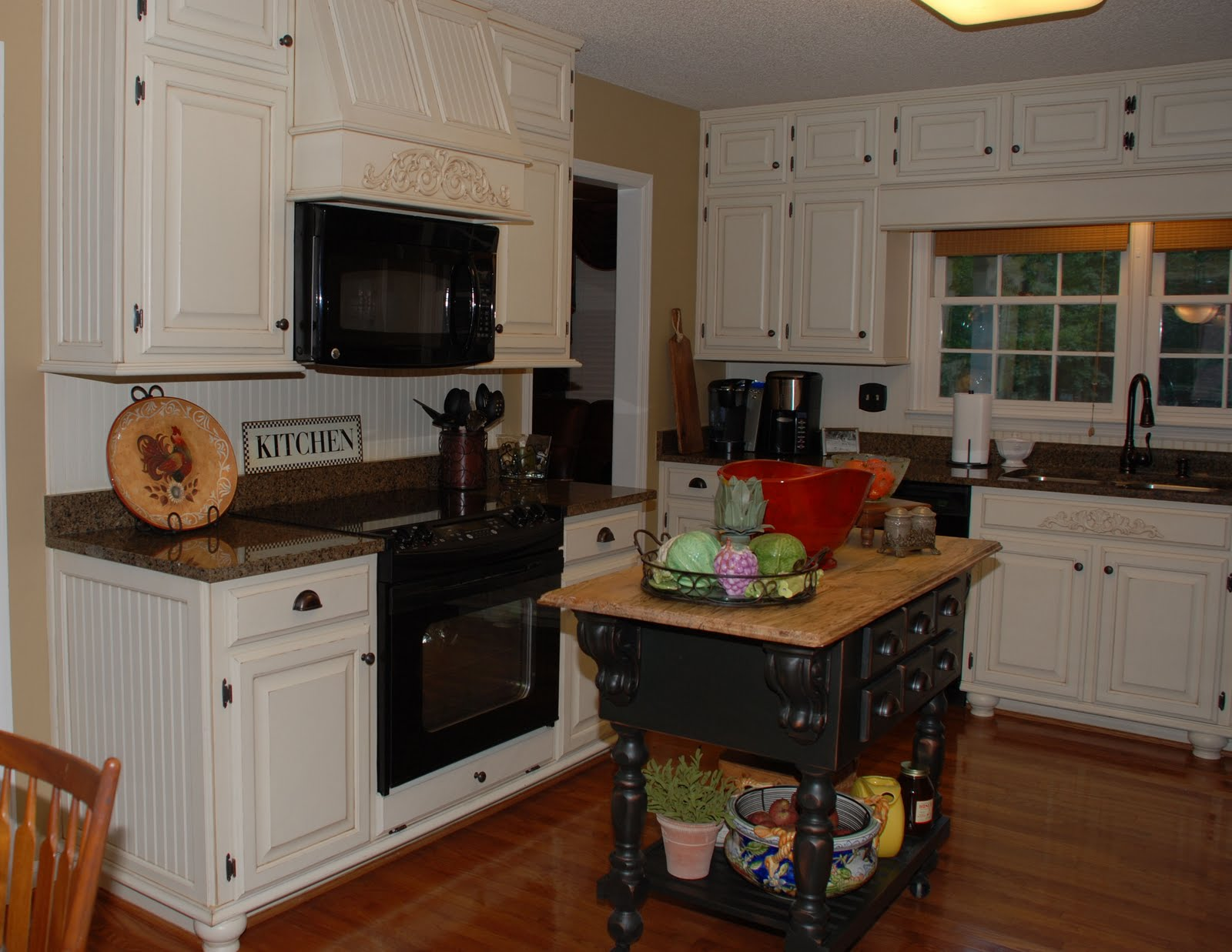 Painted Oak Kitchen Cabinets Remodelaholic From Oak Kitchen Cabinets To Painted White