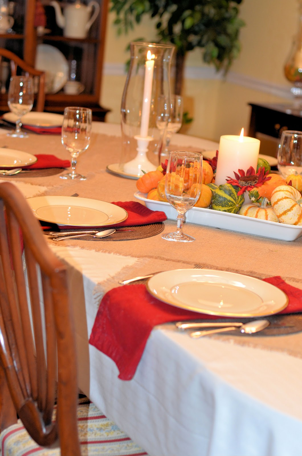 Southern Inspirations Thanksgiving Table Amp Dining Room Tour