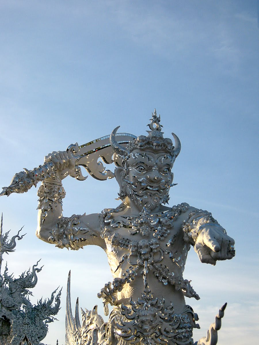 The World of Statues Fierce Giants from Wat Rong Khun Chiang Rai