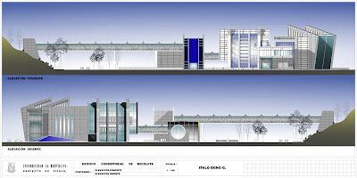 Arquitectura grafica 3d planimetria autocad elevaciones for Planimetria 3d