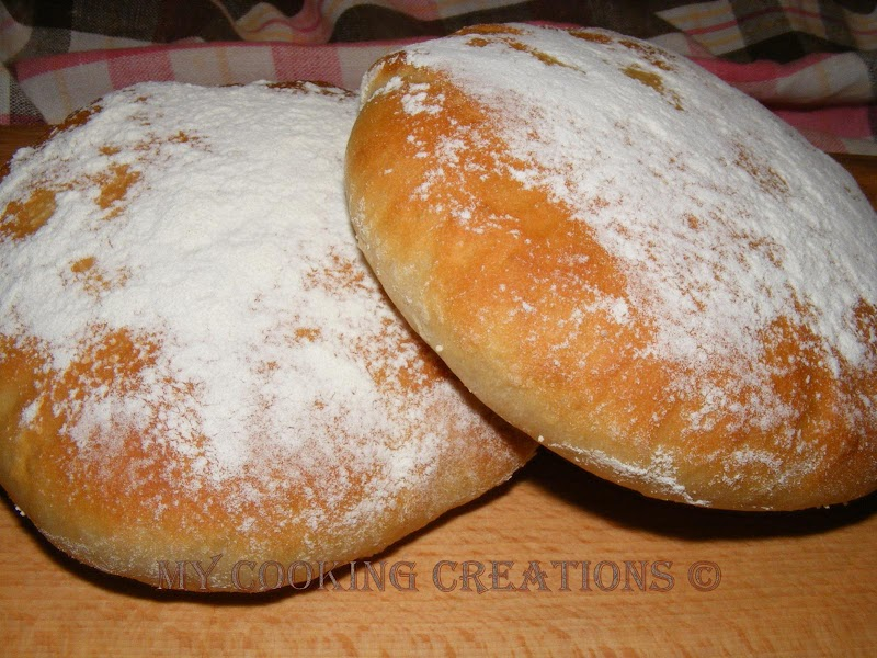 Шотландски питки бапс * Baps panini scozzesi