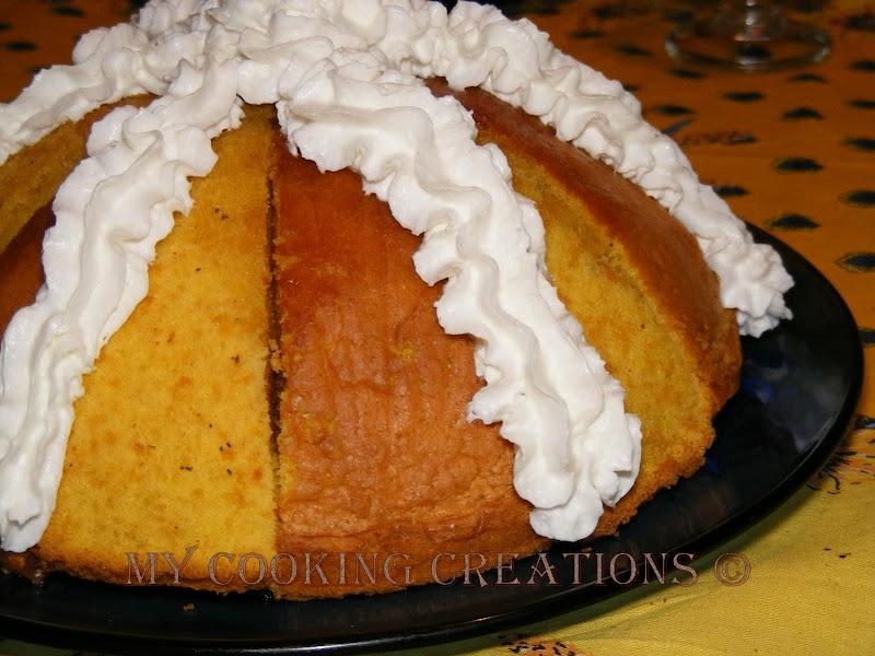 Торта Зукото по флорентински * Zuccotto fiorentino