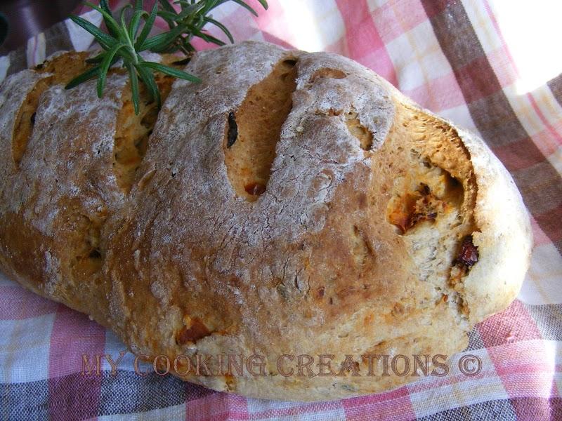 Хляб по средиземноморски * Pane mediteraneo