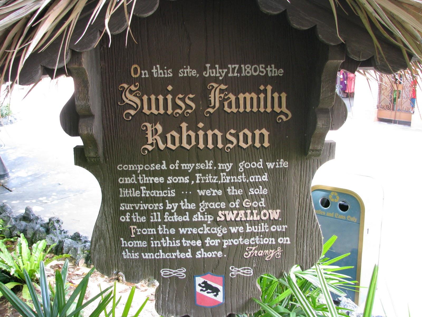 Fof Living Swiss Family Robinson