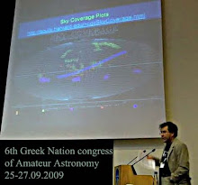 6th Greek Nation Congrees of amateur Astronomy