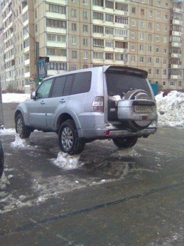 Snow removal in Saint-Petersburg