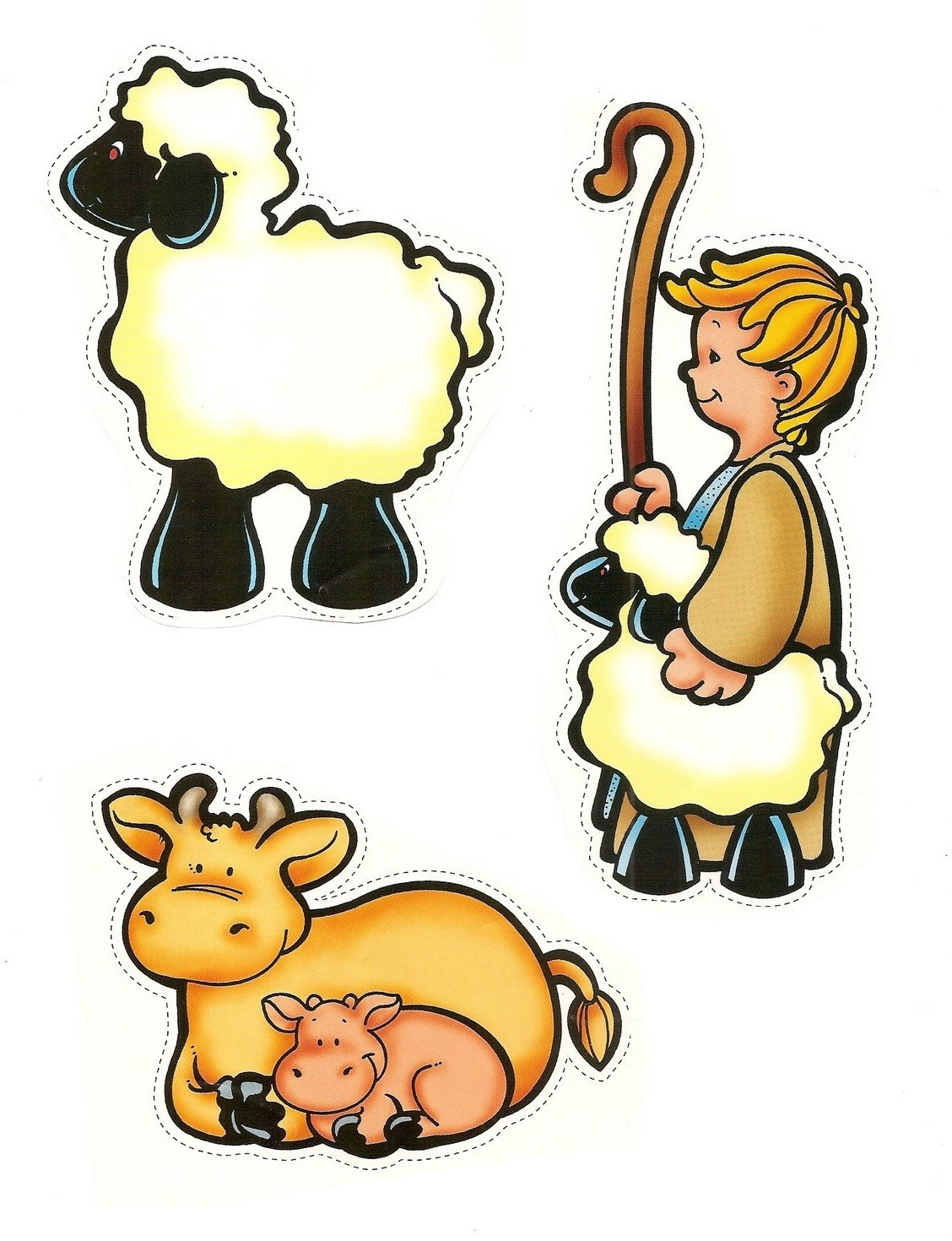 Mary joseph the pastor and sheep 4