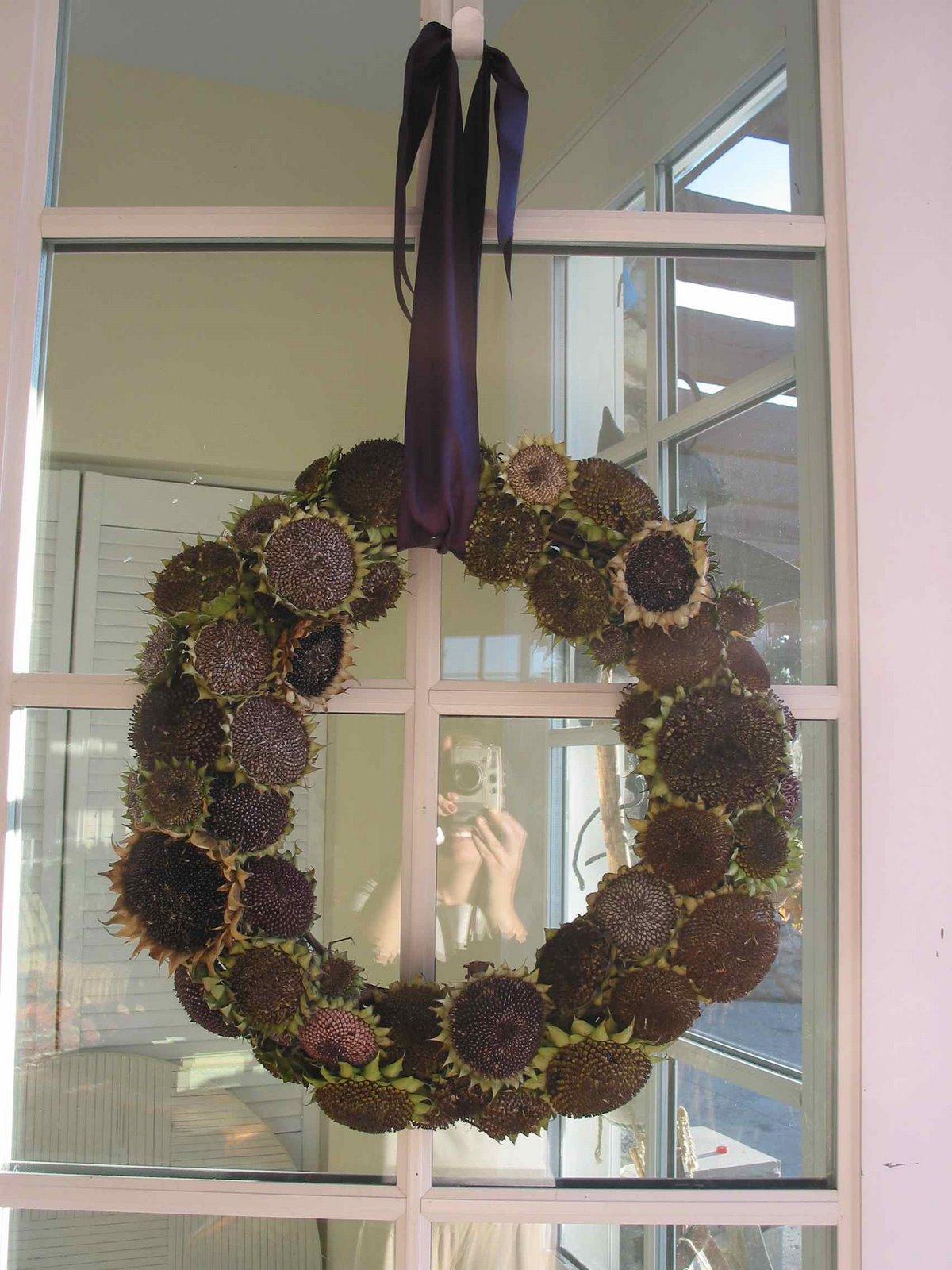Sunflower wreath - B. B.