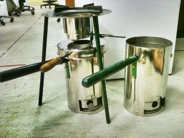 Wood Gasifier Stove Plans