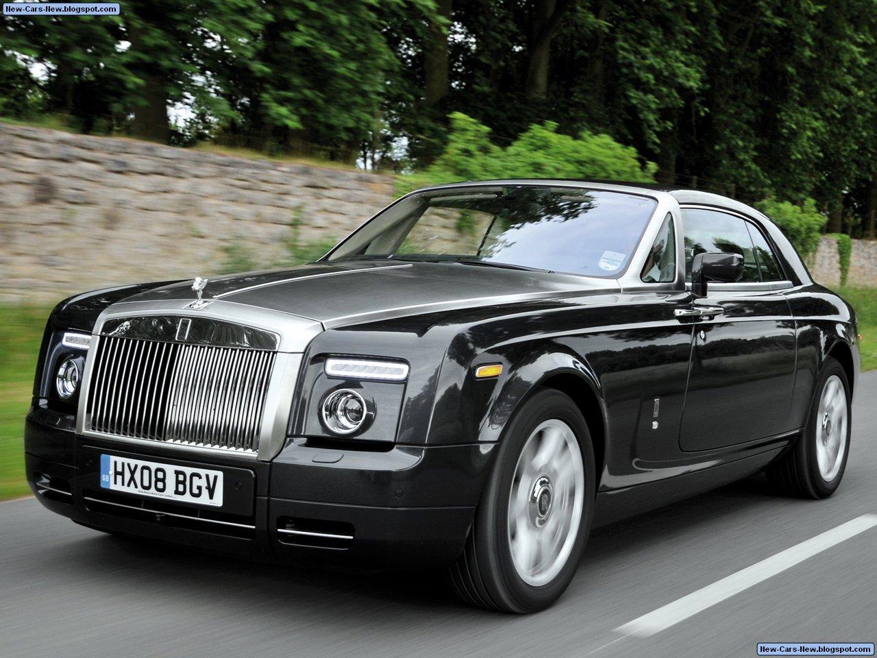 Rollsroyce Phantom Coupe (2009