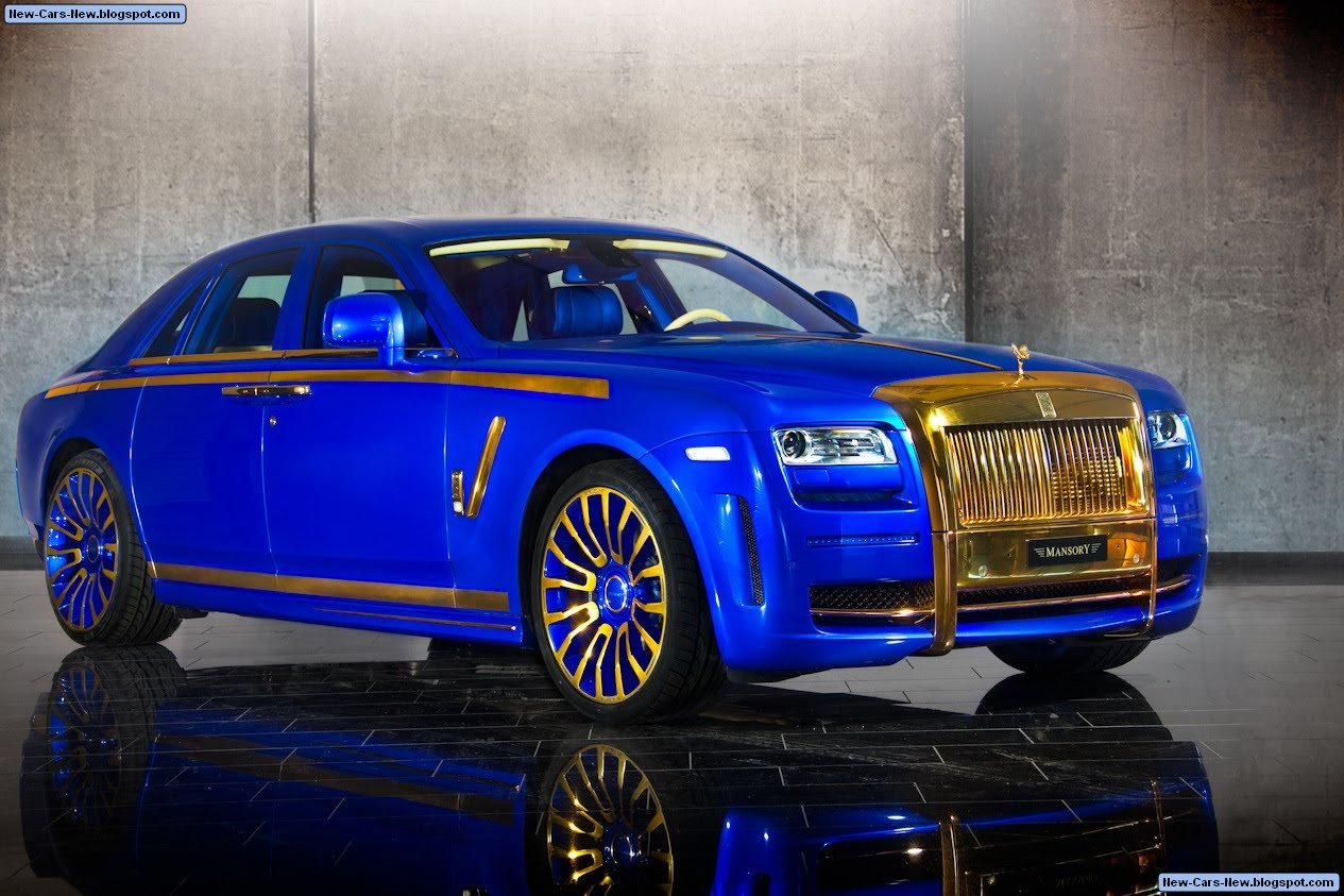 Mansory Rr Ghost Gold Edition
