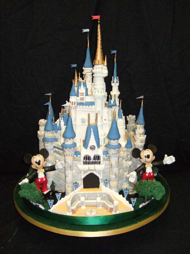disney cinderella castle wedding cake topper wedding cakes pictures cinderella castle wedding cake 13548