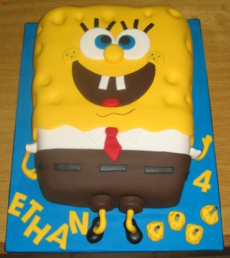 Birthday Cake Cake Spongebob