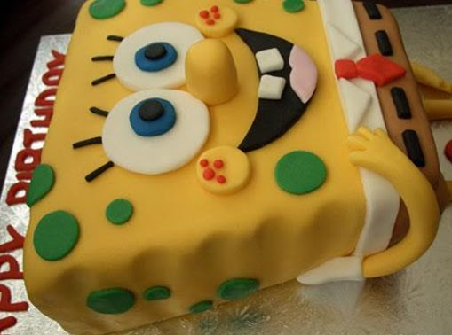 Birthday Cake Cake Spongebob
