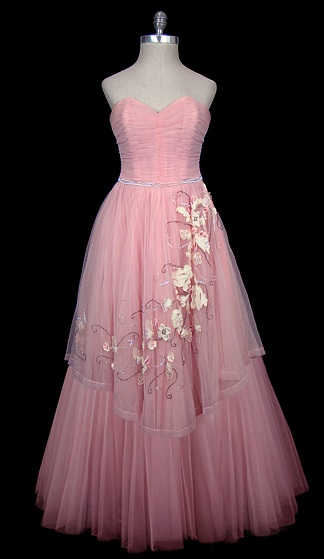 I Heart Wedding Dress Christian Dior Floral Tulle Wedding
