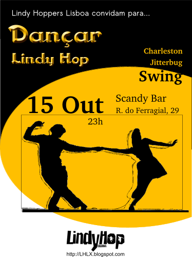Festa Lindy Hop 2010-10-15 no Scandy Bar, 23h