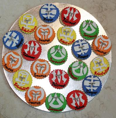 Bakugan Birthday Cake And Cookies