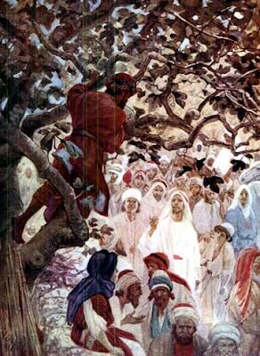 """""""Zacchaeus"""" - Artist unknown"""