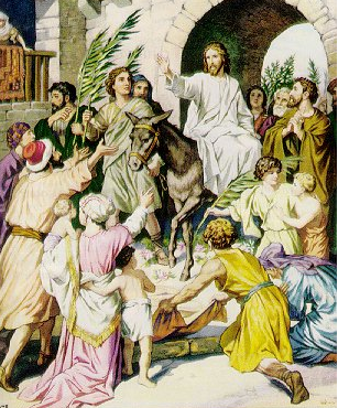 """The Triumphal Entry"" - Artist unknown"