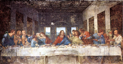 The Last Supper by Leonardo da Vinci - 1498