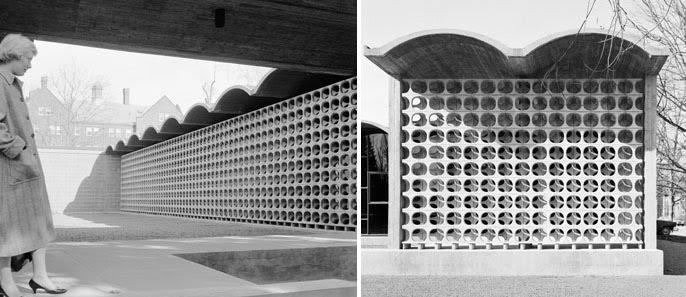 Modernist Wall Block Screen Modern Design By