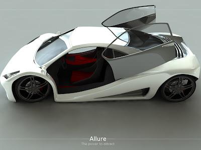 Futuristic Car Design: Sliding Door Car Design