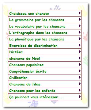 تعلم اللغة الفرنسية بواسطة الأغانى
