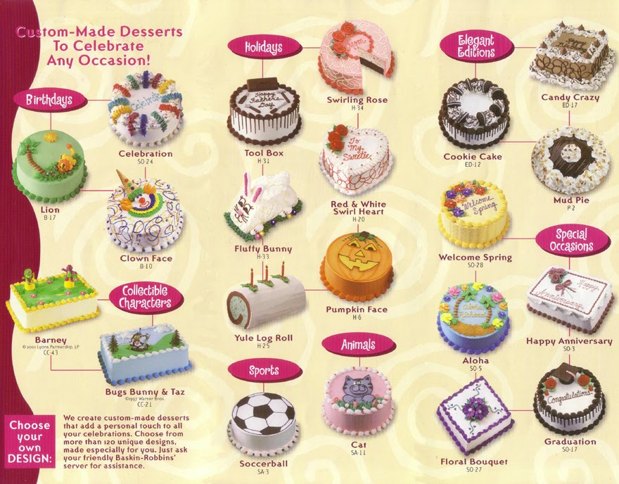 Harga Baskin Robin Ice Cream Cake