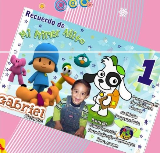 Tarjetas Personalizadas Cumpleaños Bautizos Baby Shower Etc