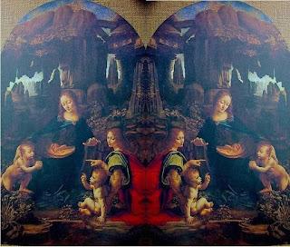 Busy Little Bee: Da Vinci - Genius, Conspiracist, or Pervert? Da Vinci Paintings Mirrored