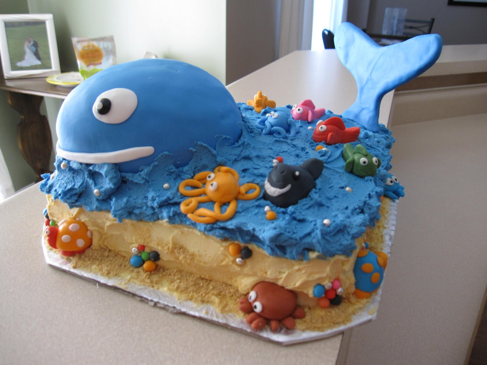 MY SMALL KITCHEN: Sophie's Under The Sea Cake