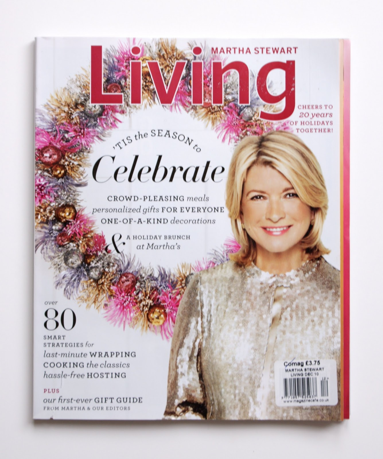 Martha Stewart Living Magazine December 2017
